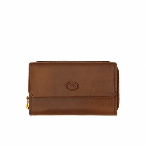 The Bridge STORY DONNA LADIES WALLET ZIP, 017726 in de kleur 14 marrone 8033748009754