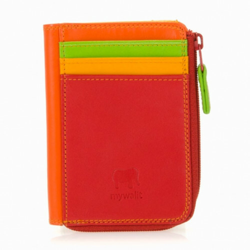 Mywalit SOFT ZIP PURSE ID, 334 in de kleur 12 jamaica 5051655025189