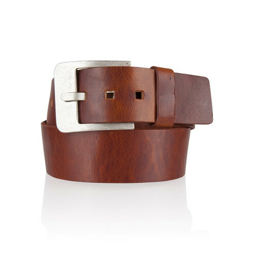 Cowboysbelt THE BELT, 51035 in de kleur 300 cognac