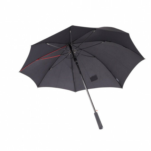 Knirps 4ALLWeather Line 4ALL WEATHER LONG AC, 896 in de kleur 100 black 9003034640816