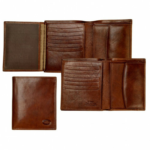 The Bridge STORY UOMO MEN'S WALLET, 014401 in de kleur 14 marrone 8033748005411