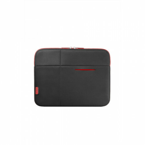 "Samsonite AIRGLOW SLEEVES LAPTOP SLEEVE 13"", U37-005 in de kleur 39 black/red 5414847266225"