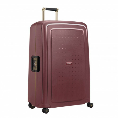 Samsonite S'CURE DLX SPINNER 81, U44-004 in de kleur 20 burgundy-gold 5414847885013